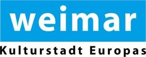 Logo weimar - kulturstadt europas block zentriert